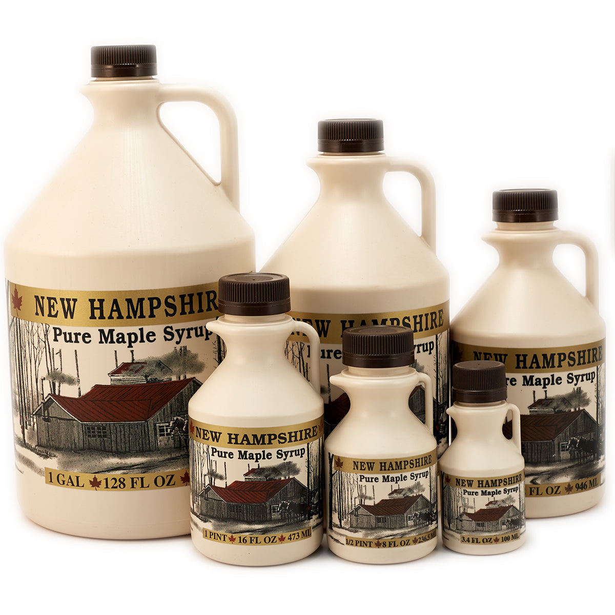 NH Colonial Gold 100 ml Jug (100/case) - While Supply Lasts