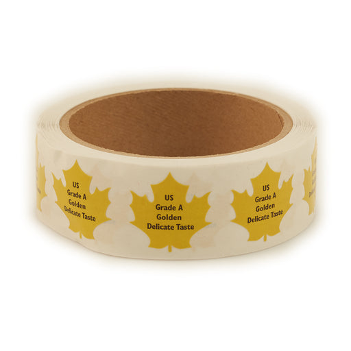 US Grade A Golden Delicate Taste Grade Label (500/roll)