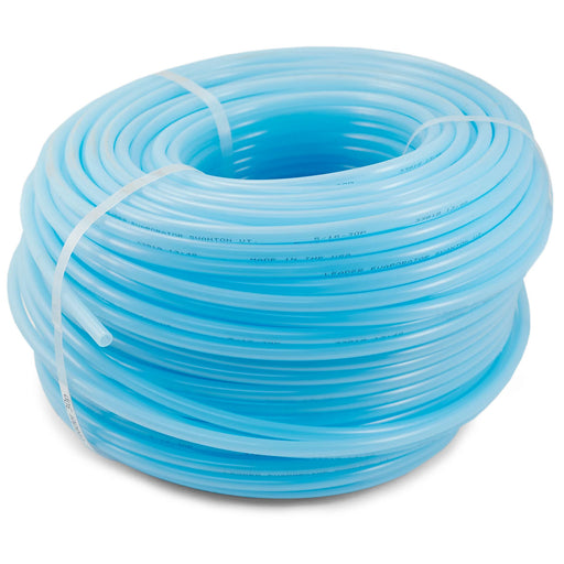 Leader 30P Poly Tubing Light Blue Rigid.