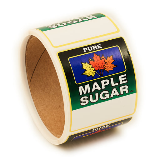 "4-Color Sugar Label 2 1/4""x2 5/8"" (100/roll)"