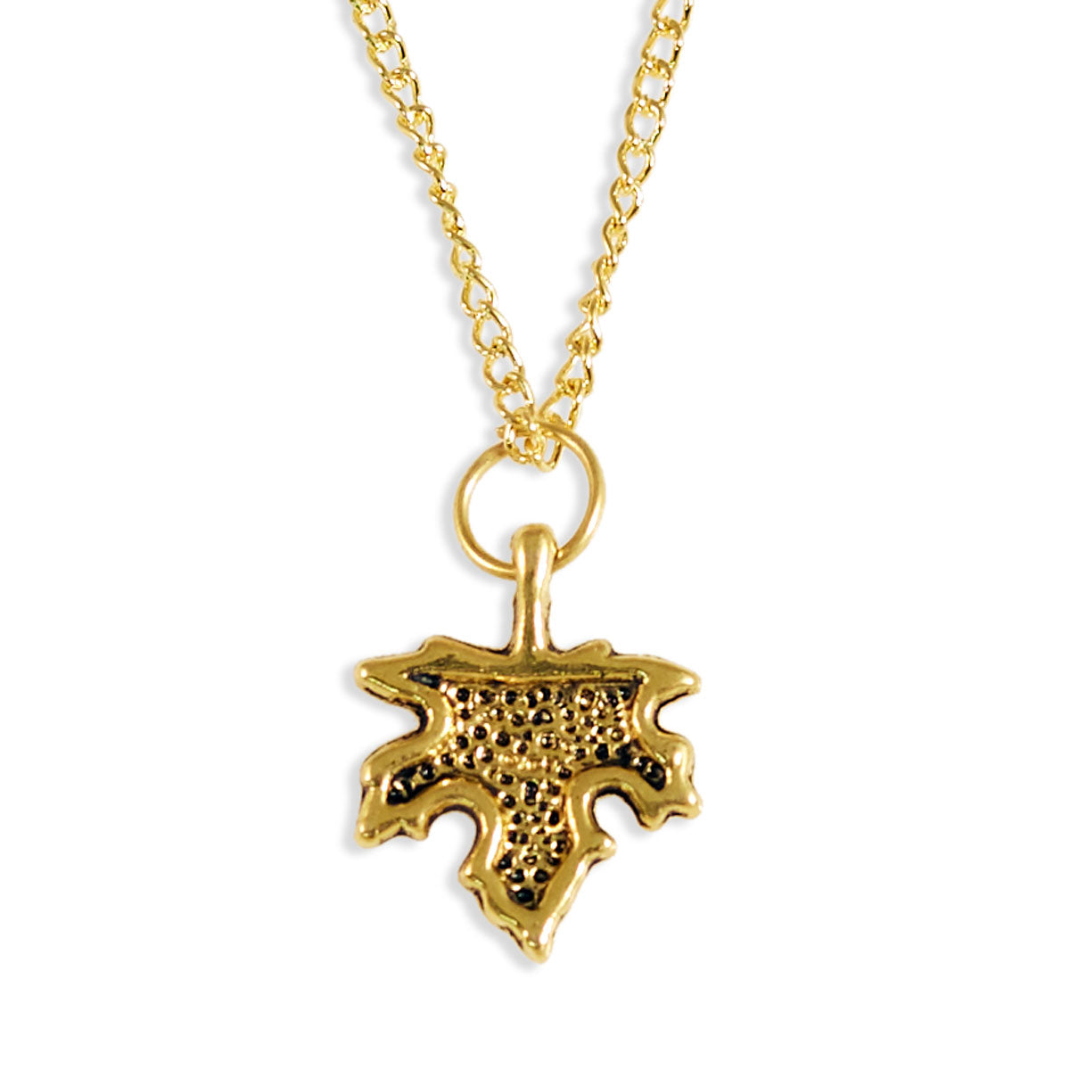 Maple Leaf Gold Necklace