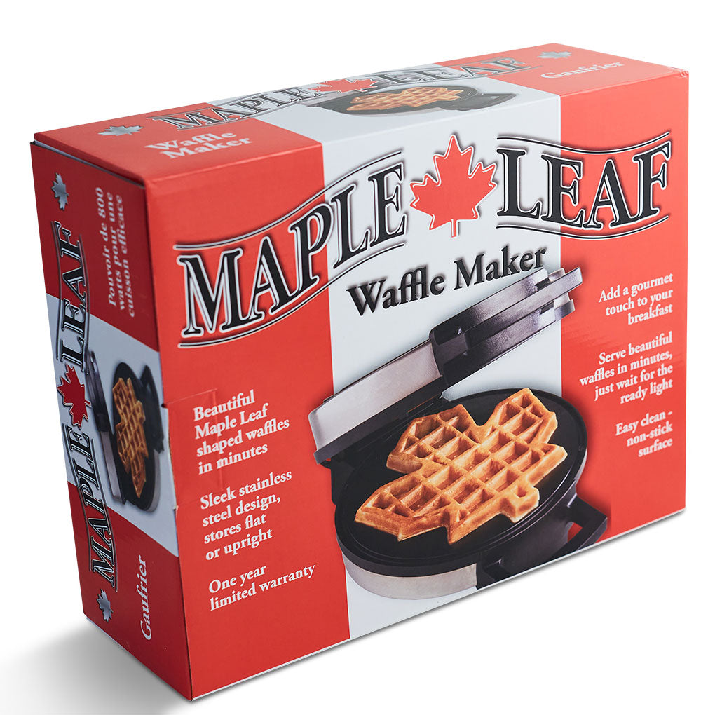 Electric Maple Leaf Waffle Maker