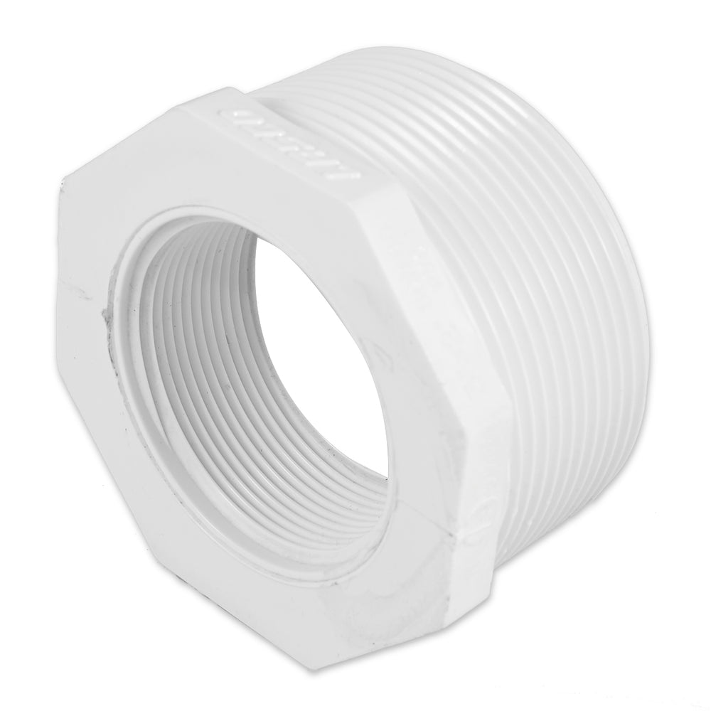 "3""x2"" PVC Threaded Reducing Bushing (MPT x FPT)"