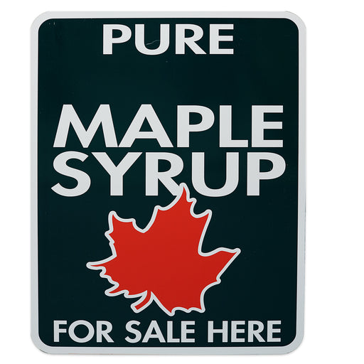"Pure Maple Syrup Sold Here Allstate Sign 18""x24"""