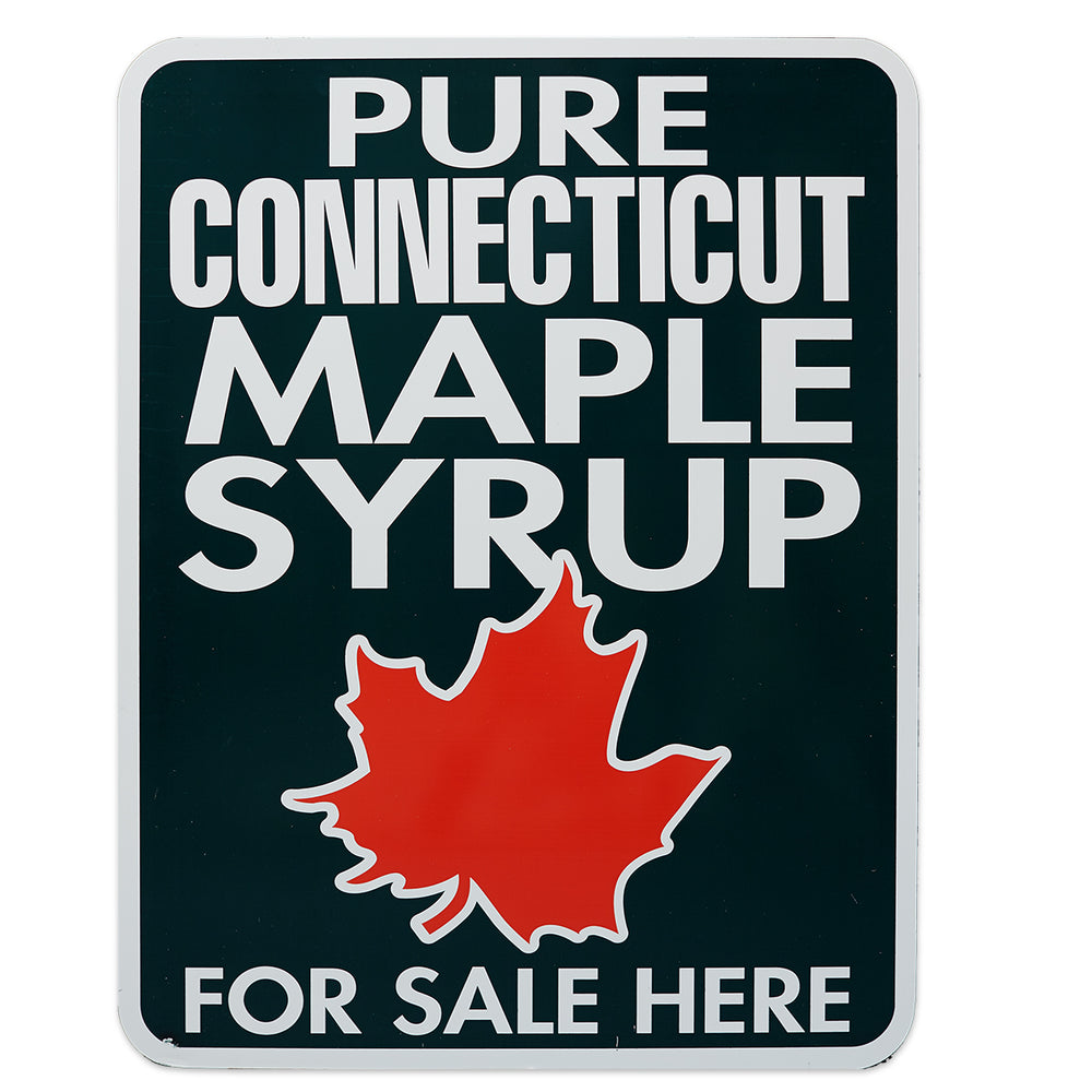 "Pure Maple Syrup For Sale Here CT Sign 18""x24"""