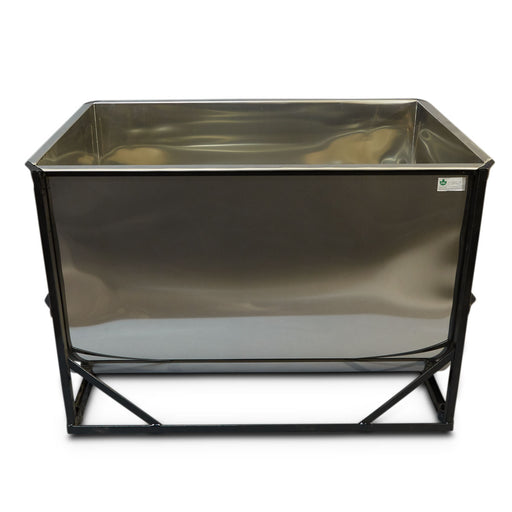 160 Gallon CDL Stainless Storage Tank (2'Wx4'Lx3'H)