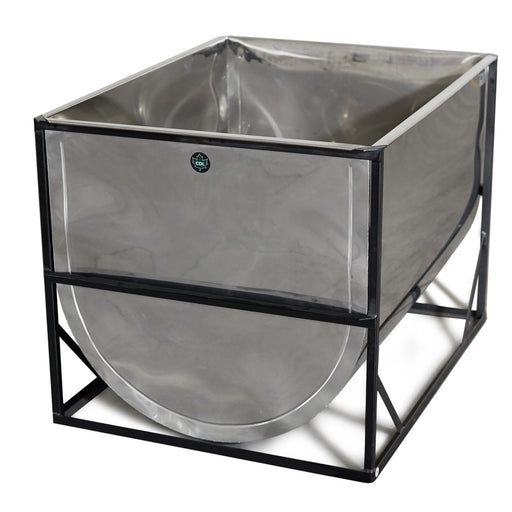 230 Gallon CDL Stainless Storage Tank (3'Wx4'Lx3'H)
