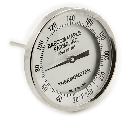 "5"" Dial 20 - 240 Degrees 6"" Stem Thermometer"