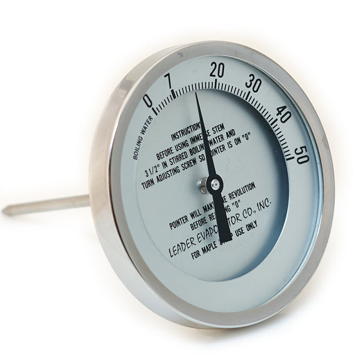 "5"" Dial 0 - 50 Degrees 6"" Stem Thermometer"