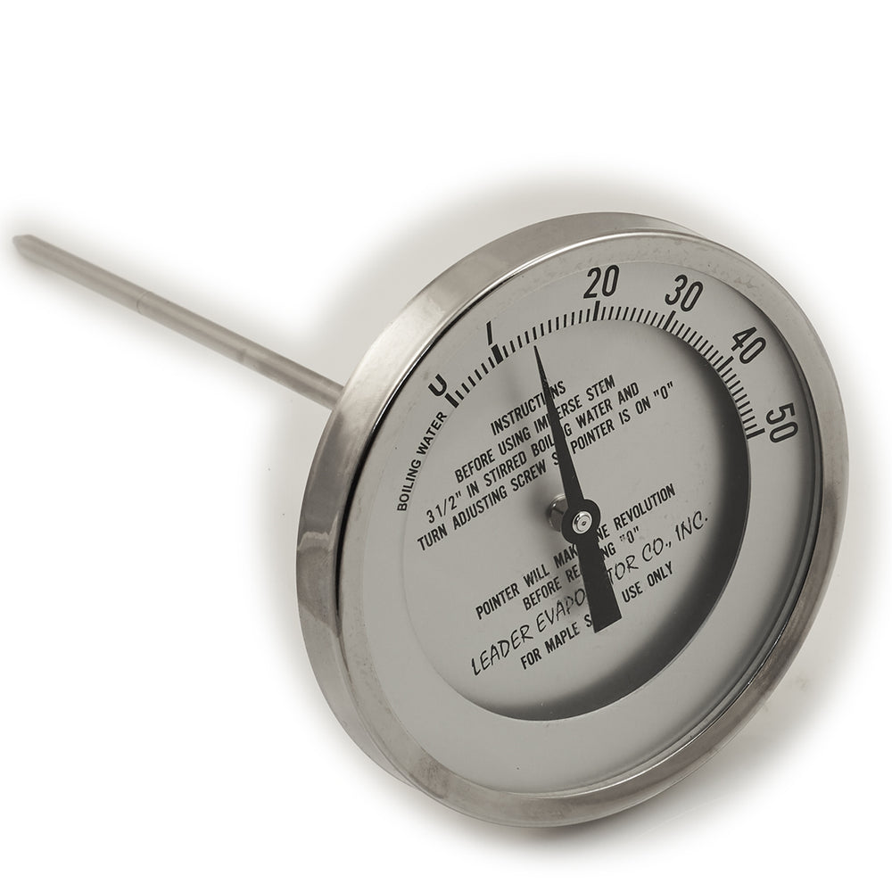 "5"" Dial 0 - 50 Degrees 9"" Stem Thermometer"