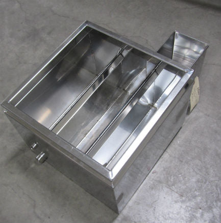 "16""x16"" Lapierre Welded 3 Section Syrup Pan"
