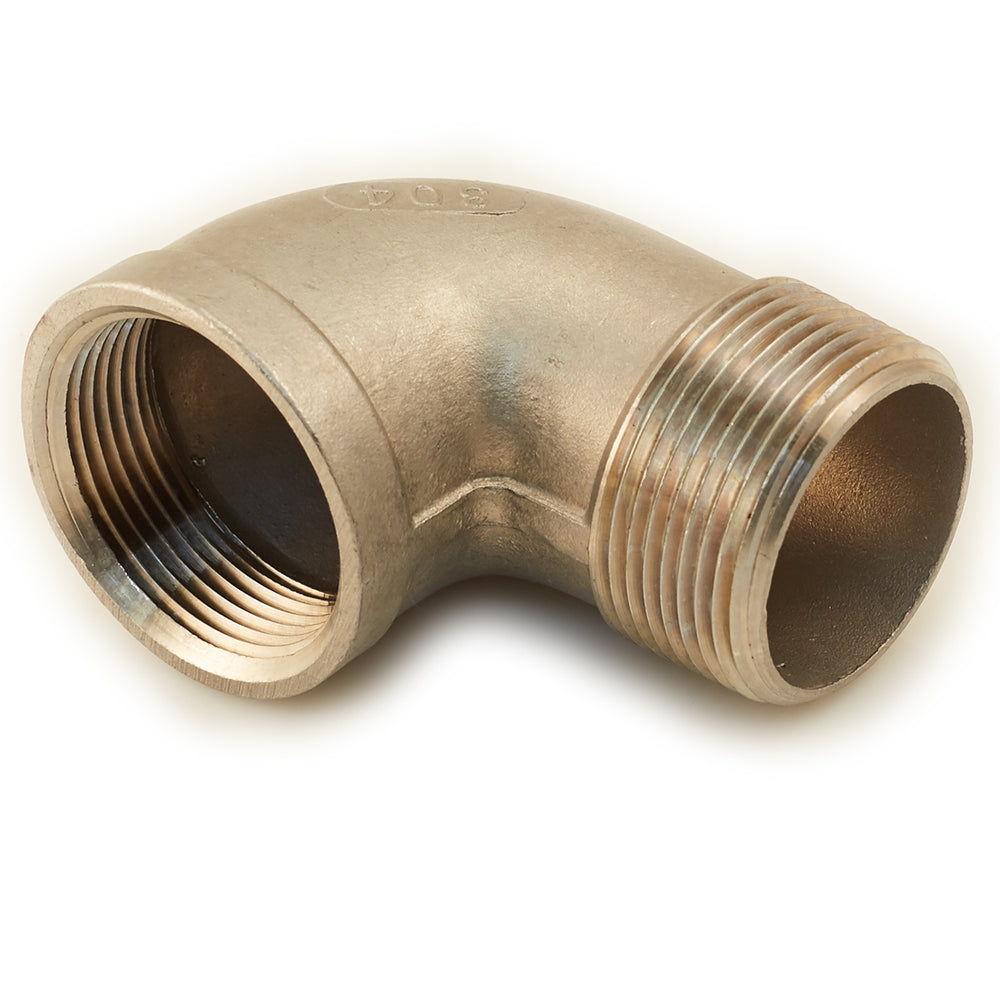 "1 1/4"" Stainless 90 Degree Street Elbow"