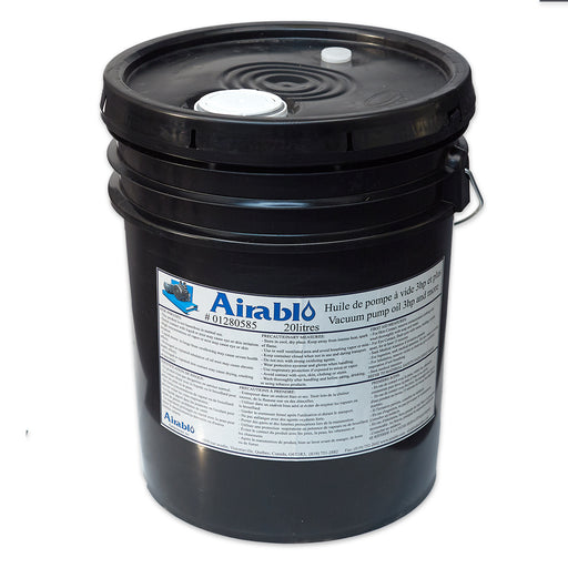 Oil for Flood Vacuum Pump (5 gal Pail) for 5 hp and Larger Airablo Pumps