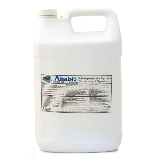 1 Gallon Airablo Vacuum Pump Oil