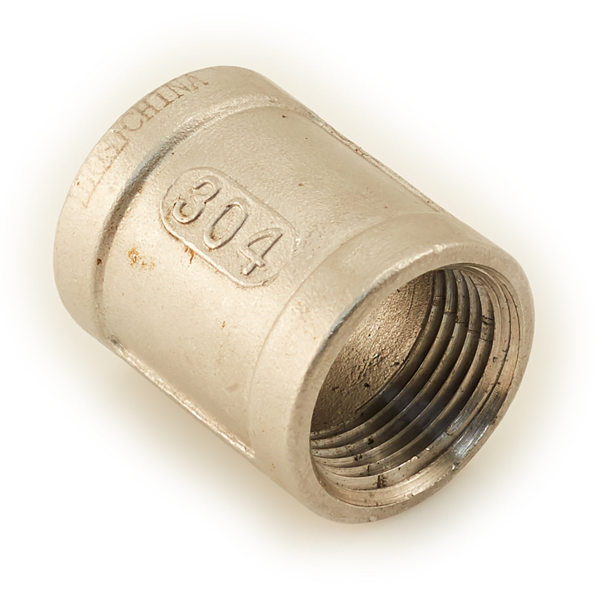 "1/4"" Stainless Threaded Female Coupling"