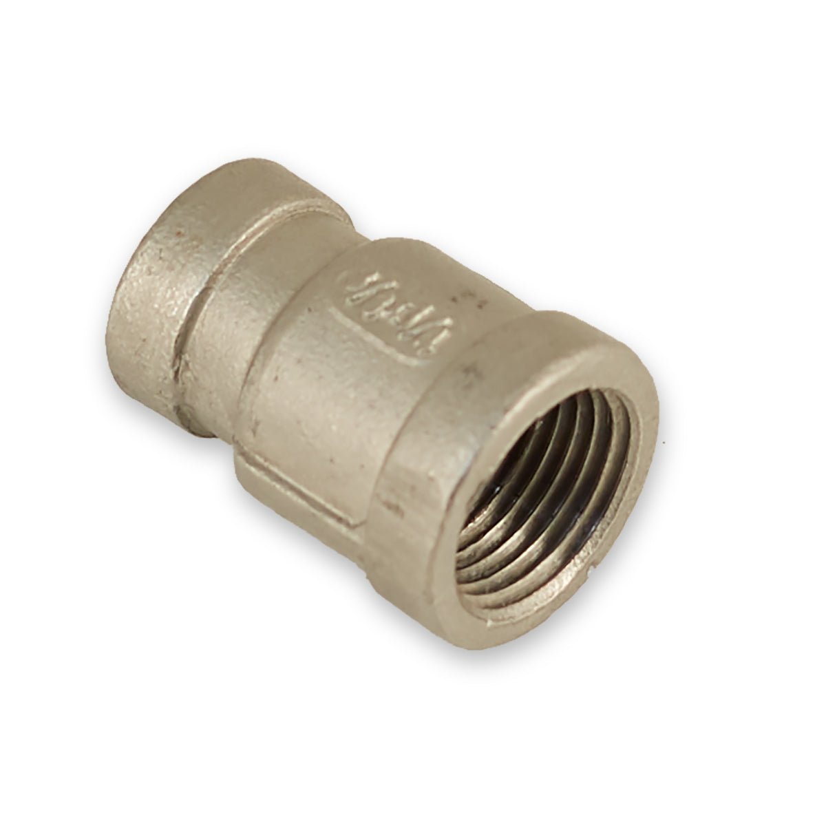 "3/8""x1/4"" Stainless Threaded Reducing Coupling"