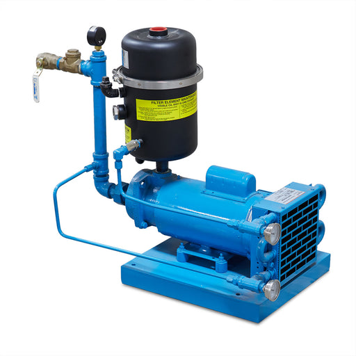 3 HP (30 cfm) Atlantic Fluid Oil Vacuum Pump