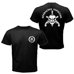 BOPE Elite Squad Brazil Special Force T-shirt Tee