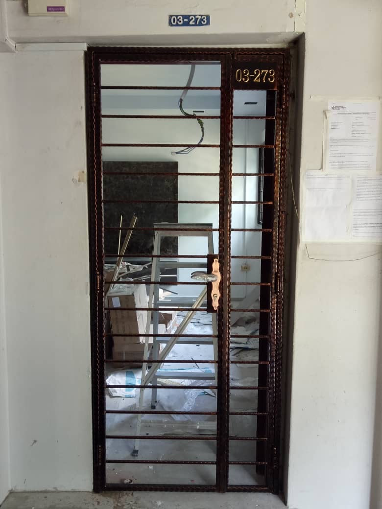 Wrought Iron Gate - WR001 - Metal and Aluminium Fabrication