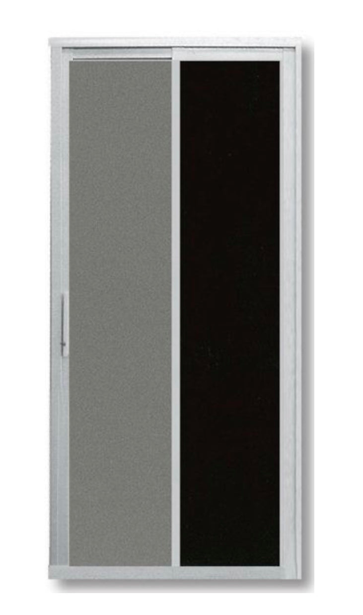 Slide and Swing Toilet Door - SD3010 - Metal and Aluminium Fabrication