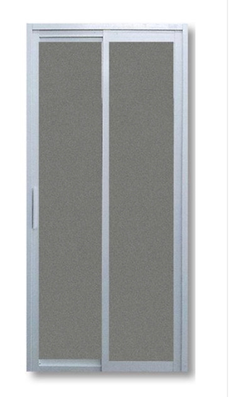 Slide and Swing Toilet Door - SD3004 - Metal and Aluminium Fabrication