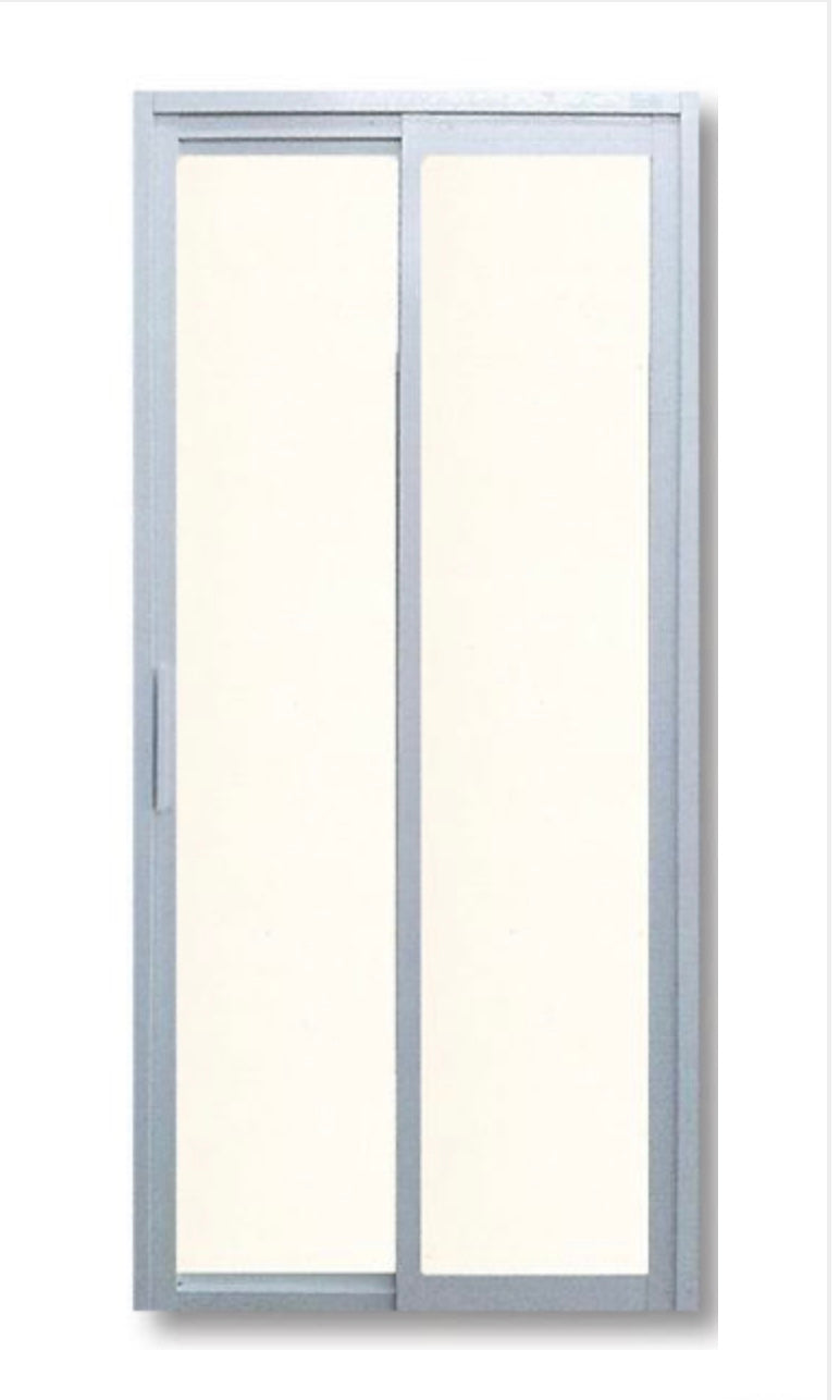 Slide and Swing Toilet Door - SD3002 - Metal and Aluminium Fabrication