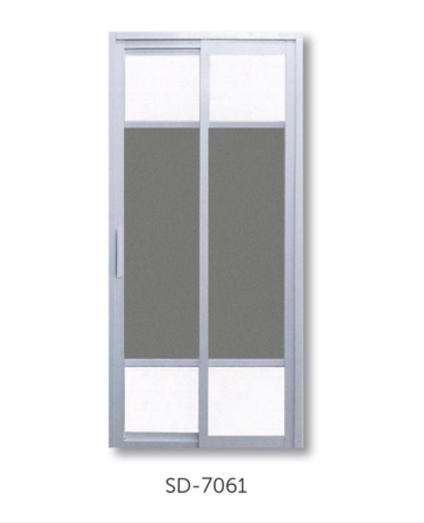 Slide and Swing Toilet Door - SD7061 - Metal and Aluminium Fabrication