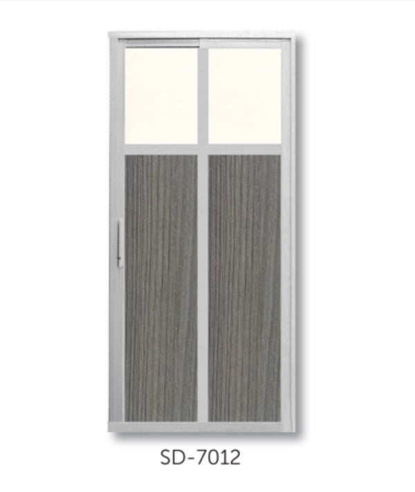 Slide and Swing Toilet Door - SD7012 - Metal and Aluminium Fabrication