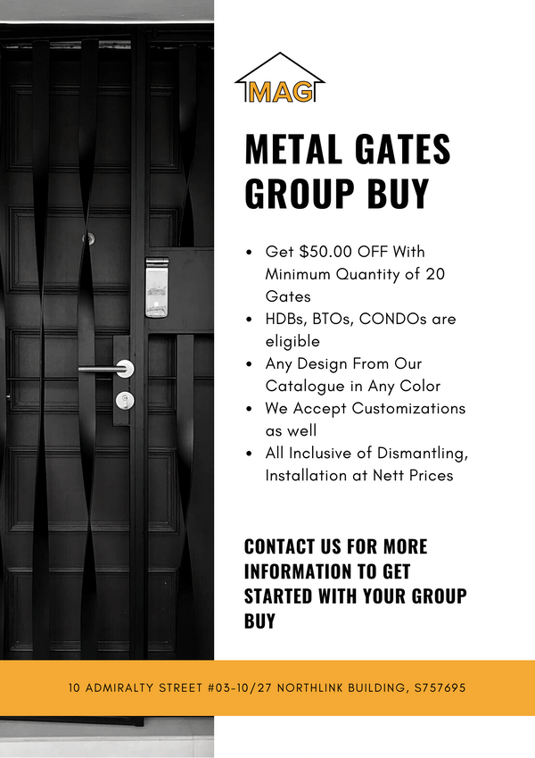 Metal Gate Group Buy