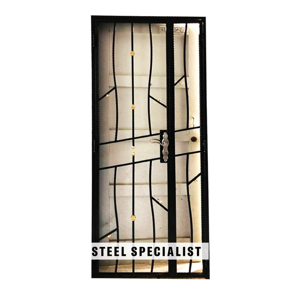 HDB Metal Gate - SH024 Naturalist Vertical Vine-Style Thin-Bar - Metal and Aluminium Fabrication
