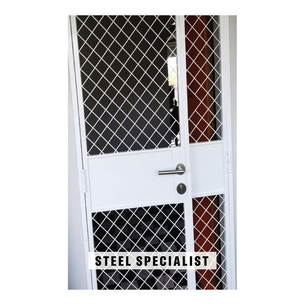 HDB Metal Gate - SH031 Pet Friendly Scissors Grille - Metal and Aluminium Fabrication