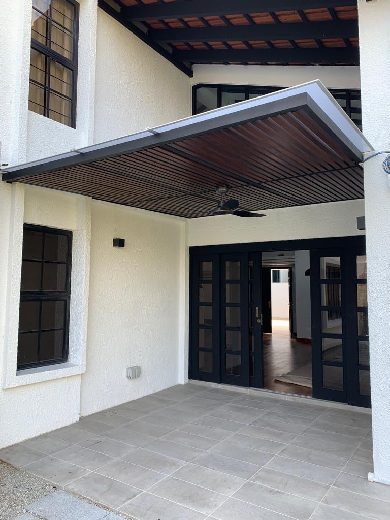 AWN001 - Mild Steel Awnings - Metal and Aluminium Fabrication