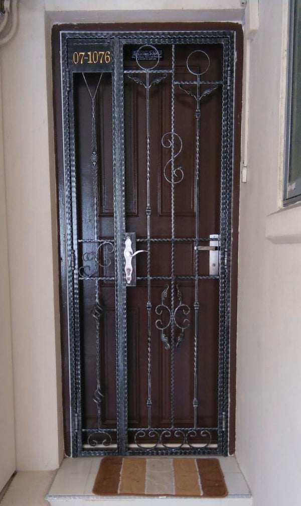 Wrought Iron Gate - WR012