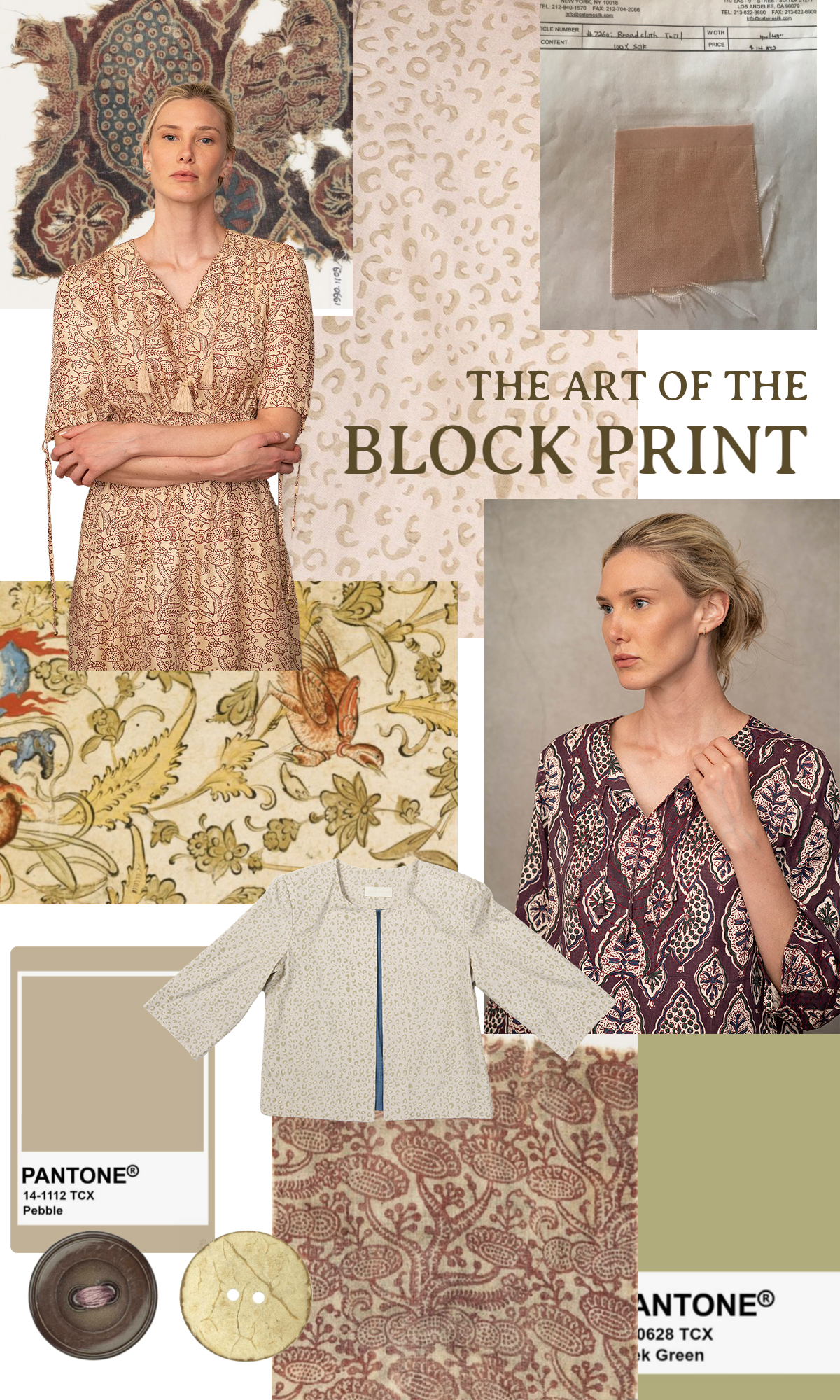 the art of block printing clothes