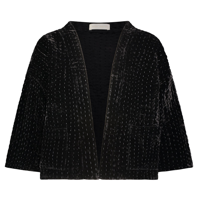 Velvet jacket from Souk Indigo