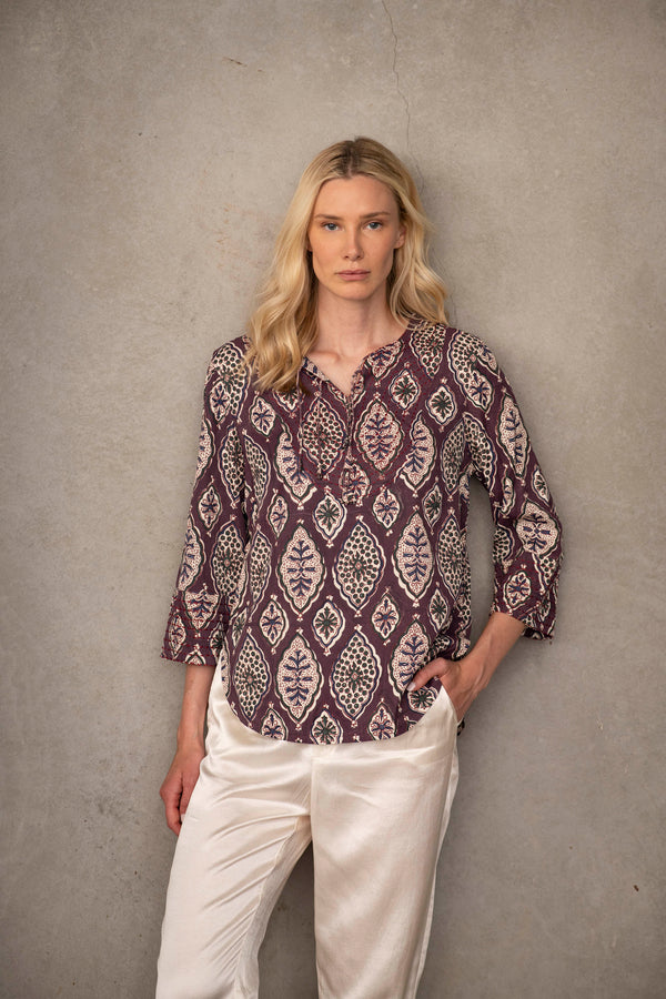 Marrakesh Blouse | Sustainable Fashion by Souk Indigo