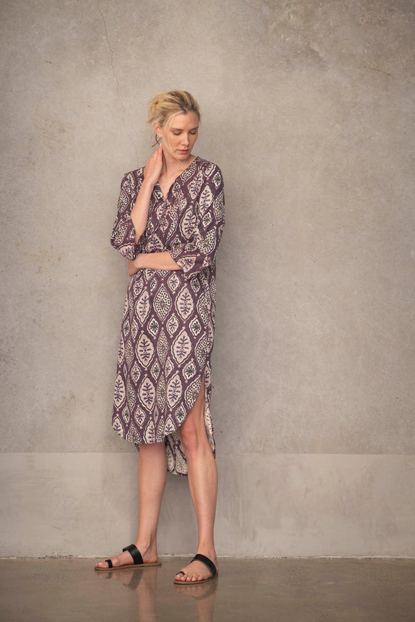 Kantha Dress - Sustainable Luxury Fashion by Souk Indigo