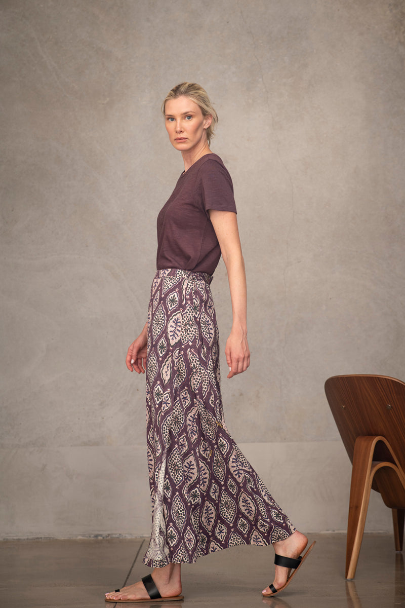 Maxi Skirt - ethical fashion by Souk Indigo