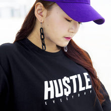 Hustle Basic Logo Oversized Tee