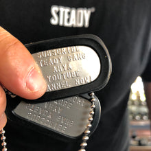 Steady Gang Military Tag