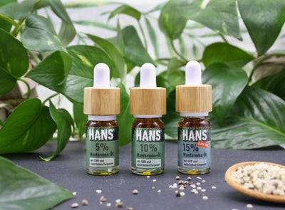 New: CBD oil in 3 variations