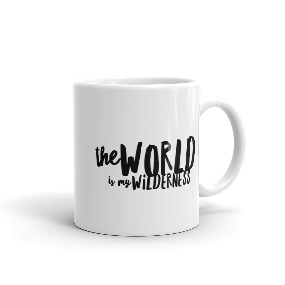 The World is My Wilderness Mug