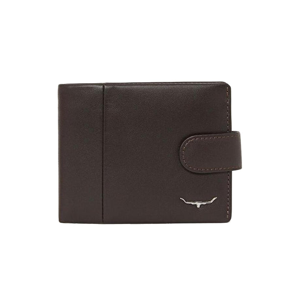 WALLET WITH COIN POCKET TAB
