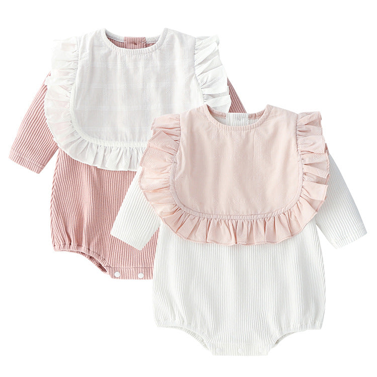 Baby clothes girls robes newborn cotton