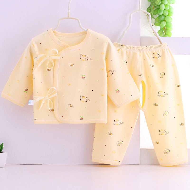 Baby cotton pijama set just
