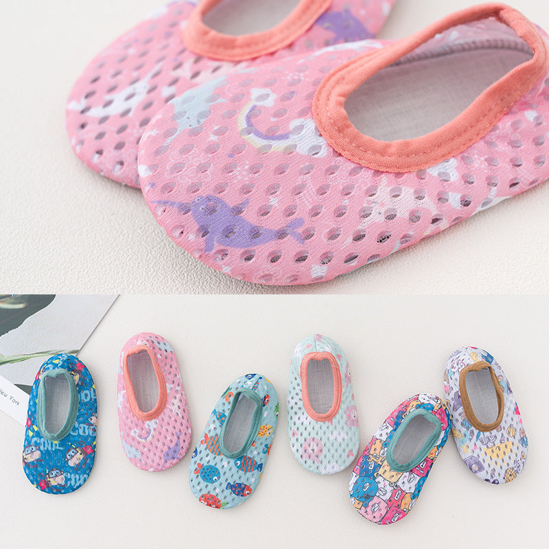 Shoes mesh children toddler ultra-thin