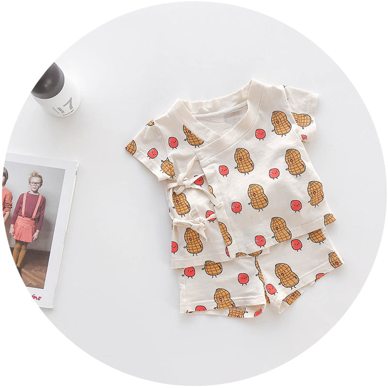 Baby suit two-piece children casual