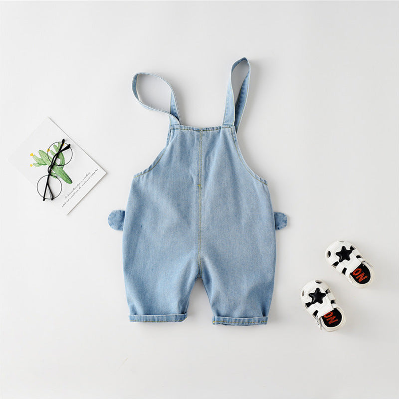 Children's pants casual ears strap