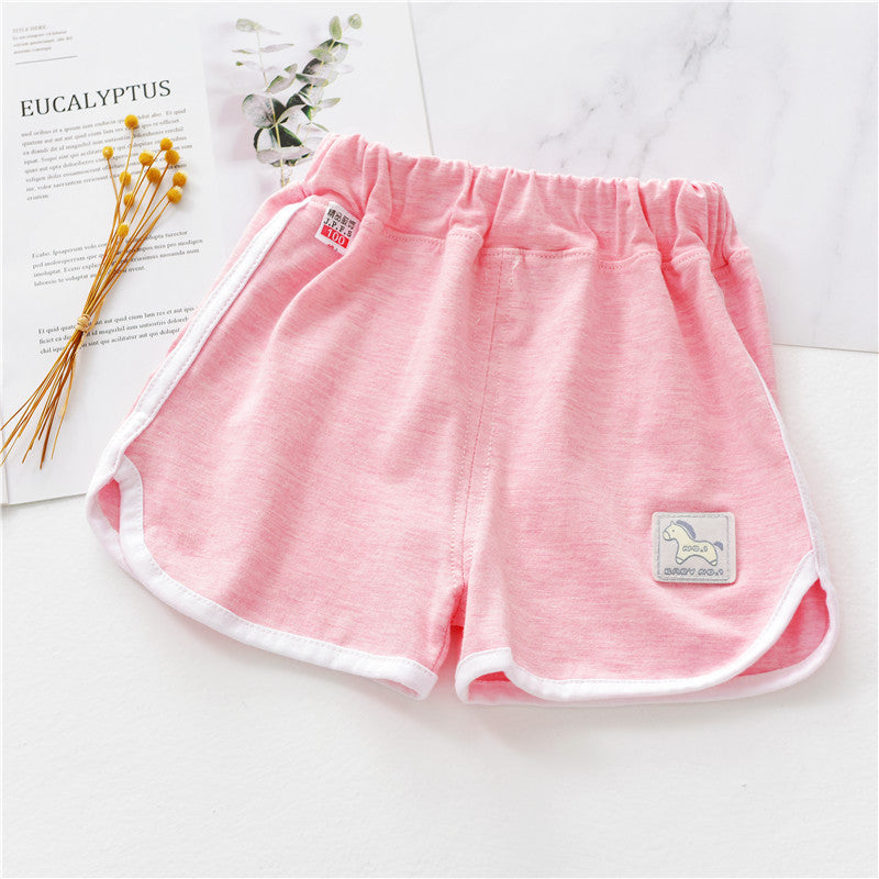 Children's cotton shorts