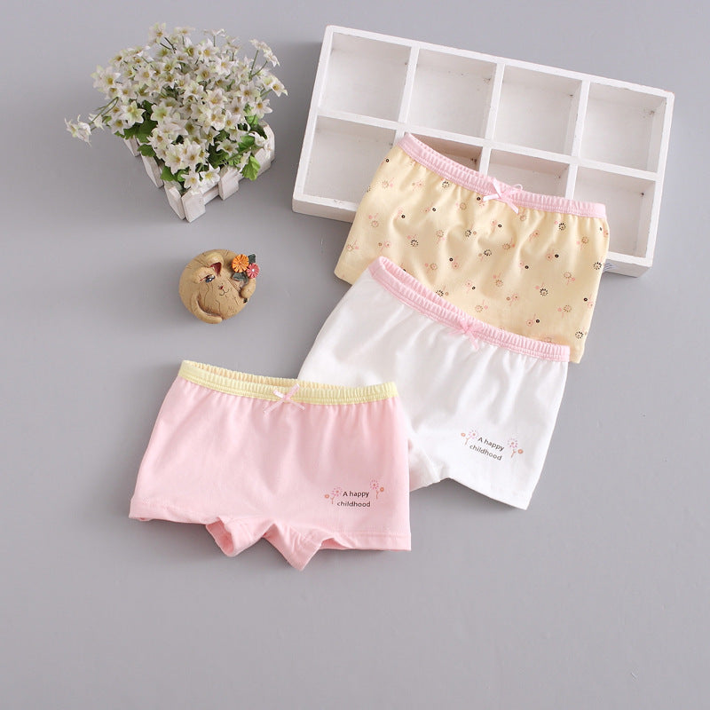 Children's underwear cotton baby